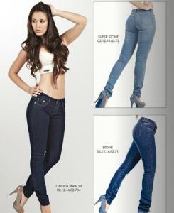Jeans skinny dama