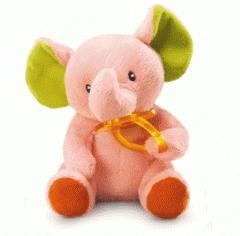 Peluche elefante con chupete Russ Berrie