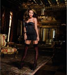 Espectacular vestido/corset confeccionado en saten