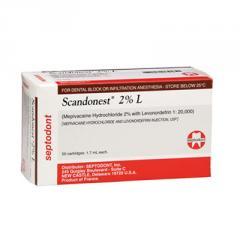 Anestesia Scandonest 2%
