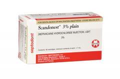 Anestesia Scandonest 3%
