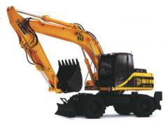 Excavadora en Ruedas