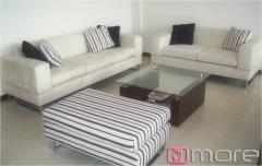 Sofa doble de 1.8 m y sofa triple de 2.2 m, con