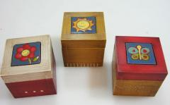 Wood & Ceramic Boxes
