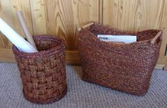 Magazine And Paper Baskets Brown