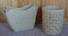Magazine And Paper Baskets Natural