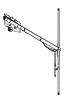 Antena Dipolo Vertical para FM