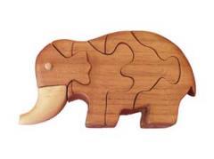 Rompecabezas 3D Elefante