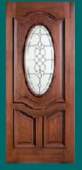 Puerta Madera 3/4 Oval Deluxe