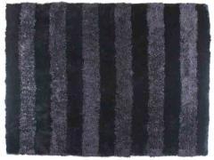 Alfombra Stripe Black
