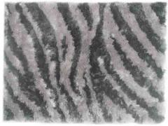 Alfombra Zebra Dk Grey L Grey