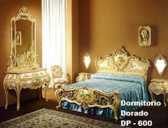 Dormitorio Dorado DP 600
