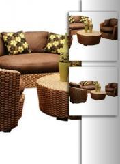 Muebles de caña