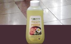 Shampoo natural de almendras & manzanilla