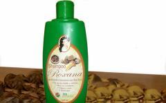 Shampoo Roxana de almendra amazónica con Aloe Vera