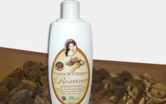 Crema de Enjuague Roxana de Almendra amazónica