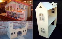 Casas de muñecas de madera