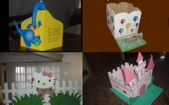 Canastas y cajas para cumpleaños