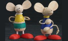 Ratones juguetones