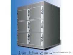 SLCEACA27 Cámara frigorífica 6 cuerpos 0 °C