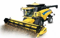Cosechadoras New Holland