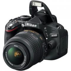 Cámara Fotográfica Nikon D5100 kit lente 18-55mm