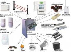 Sistemas de Alarma Contra Robo, Incendio y/o