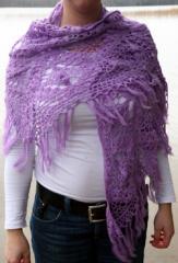 Mantilla de lana K936