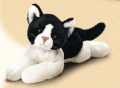 Peluche gato blanco y negro Russ Berrie