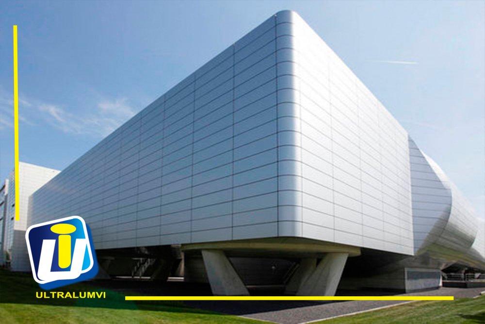 Pedido Fachadas de Panel de Aluminio