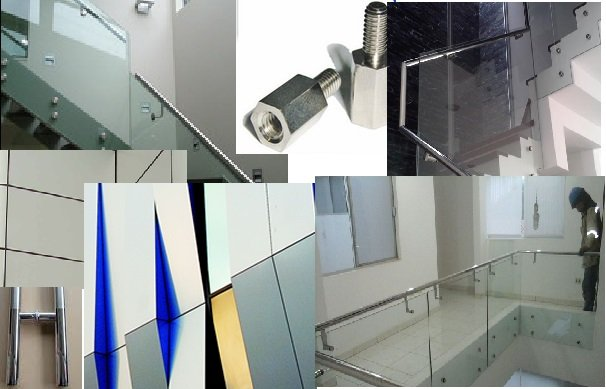 Pedido Escaleras, Vidrios, Alucobond, Blindex, Baños y Otros en Inox