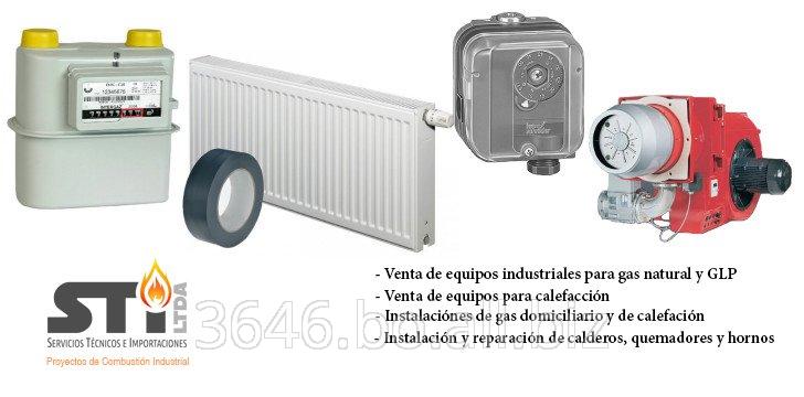 Pedido Venta de equipos e instalaciones de gas natural y GLP doméstico, comercial e industrial, materiales de protección anticorrosiva