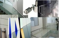 Escaleras, Vidrios, Alucobond, Blindex, Baños y Otros en Inox