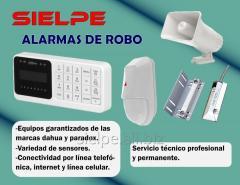 INSTALACION DE ALARMAS DE ROBO